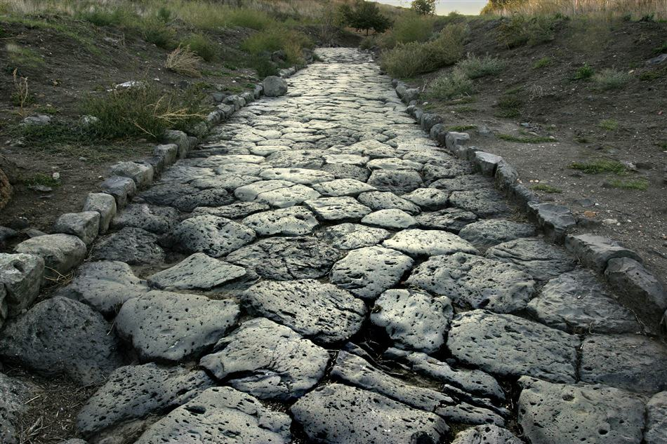 Roman road near Vulci
